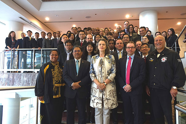 The 9th ASEAN Regional Forum Inter-Sessional Meeting on Non-Proliferation and Disarmament, Auckland, New Zealand, 8-9 March 2017.
