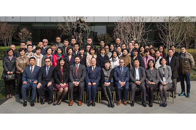 2017 Internal compliance training organized by China Machinery Engineering Corporation (CMEC) in cooperation with China Arms Control and Disarmament Association (CACDA) in Beijing, China on 15 March 2017.