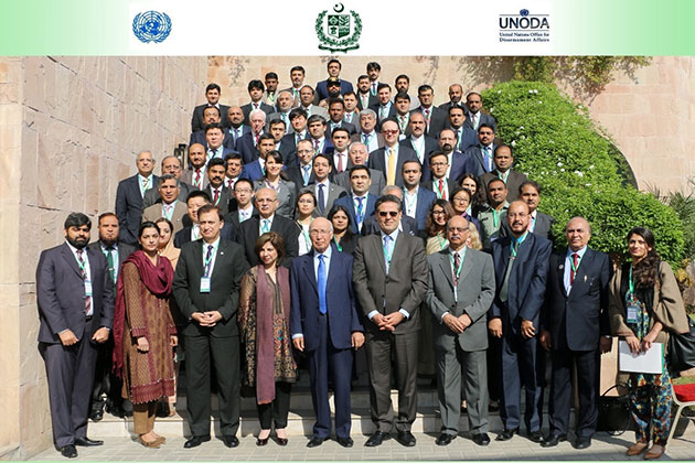 Participants in the UN Security Council Resolution 1540 (2004) Regional Seminar, Islamabad, Pakistan, 14-15 March 2017.