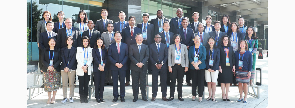 UNSCR 1540 Points of Contact group photo in training course in Xiamen, China