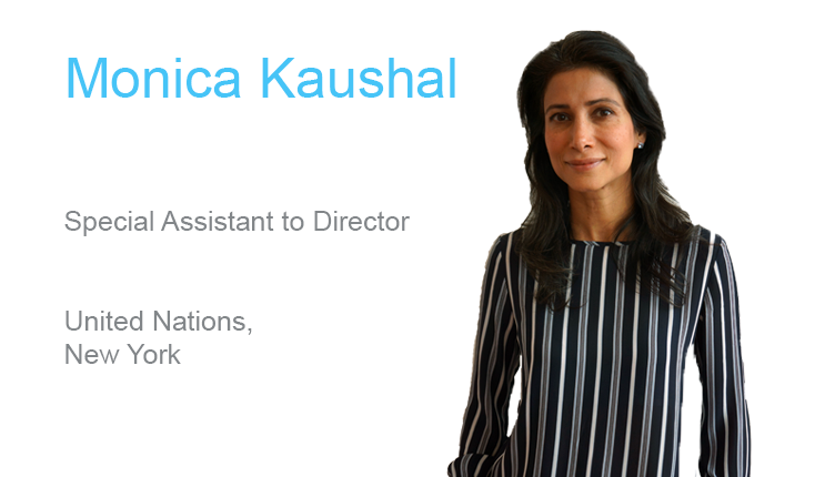 Monica Kaushal, Special Assistant to Director, Business Transformation and Accountability Division