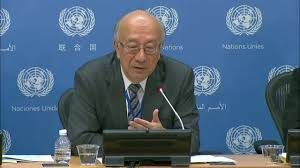 H.E. Ambassador Koro Bessho, Permanent Representative of Japan to the UN