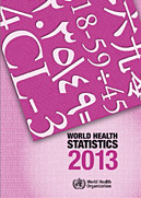 World Health Statistics 2013 report cover