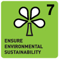 ENSURE ENVIRONMENTAL SUSTAINABILITY