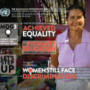 MDG Goal 3: Promote gender equality and empower women