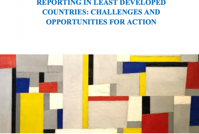 Cover of the Corporate Sustainability Reporting in LDCs