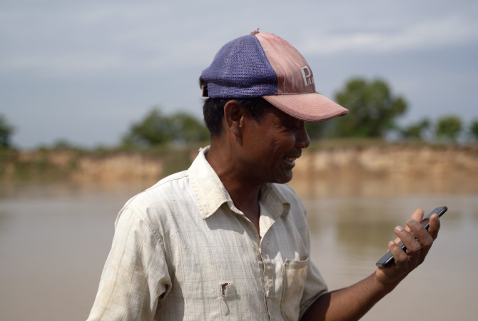 Strengthening climate information and early warning systems in Cambodia.