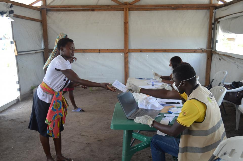 Post-Cyclone Idai response in Sofala Province, Mozambique