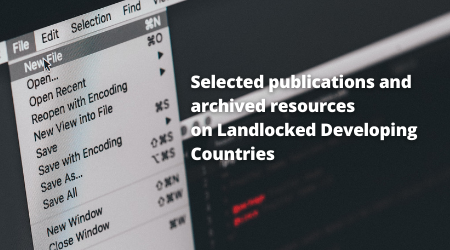LLDCs Selected Relevant Publications and Online Resources