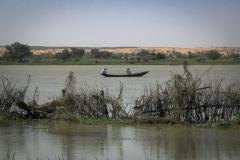 Tondikorey, a small village located directly on the shores of the river Niger, Niger