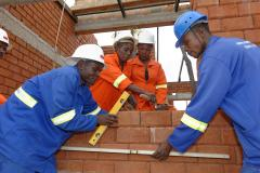 Building the green homes project in Zambia