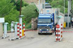 Customs controls on the border of Armenia