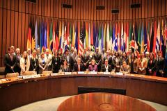 Group photo following the opening session. Photo: UNECLAC