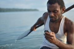 A fisherman can now text for help in Vanuatu.