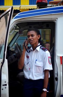 The arrival of improved mobile phone services has improved emergency services in Vanuatu.