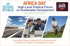 Africa Day at the HLPF flyer