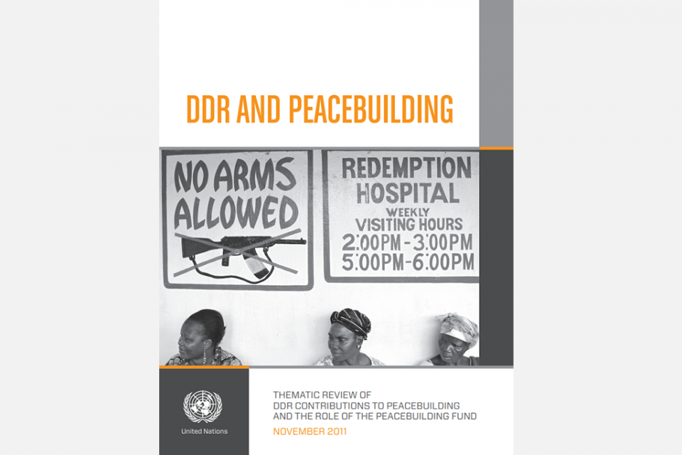 DRR and Peacebuilding
