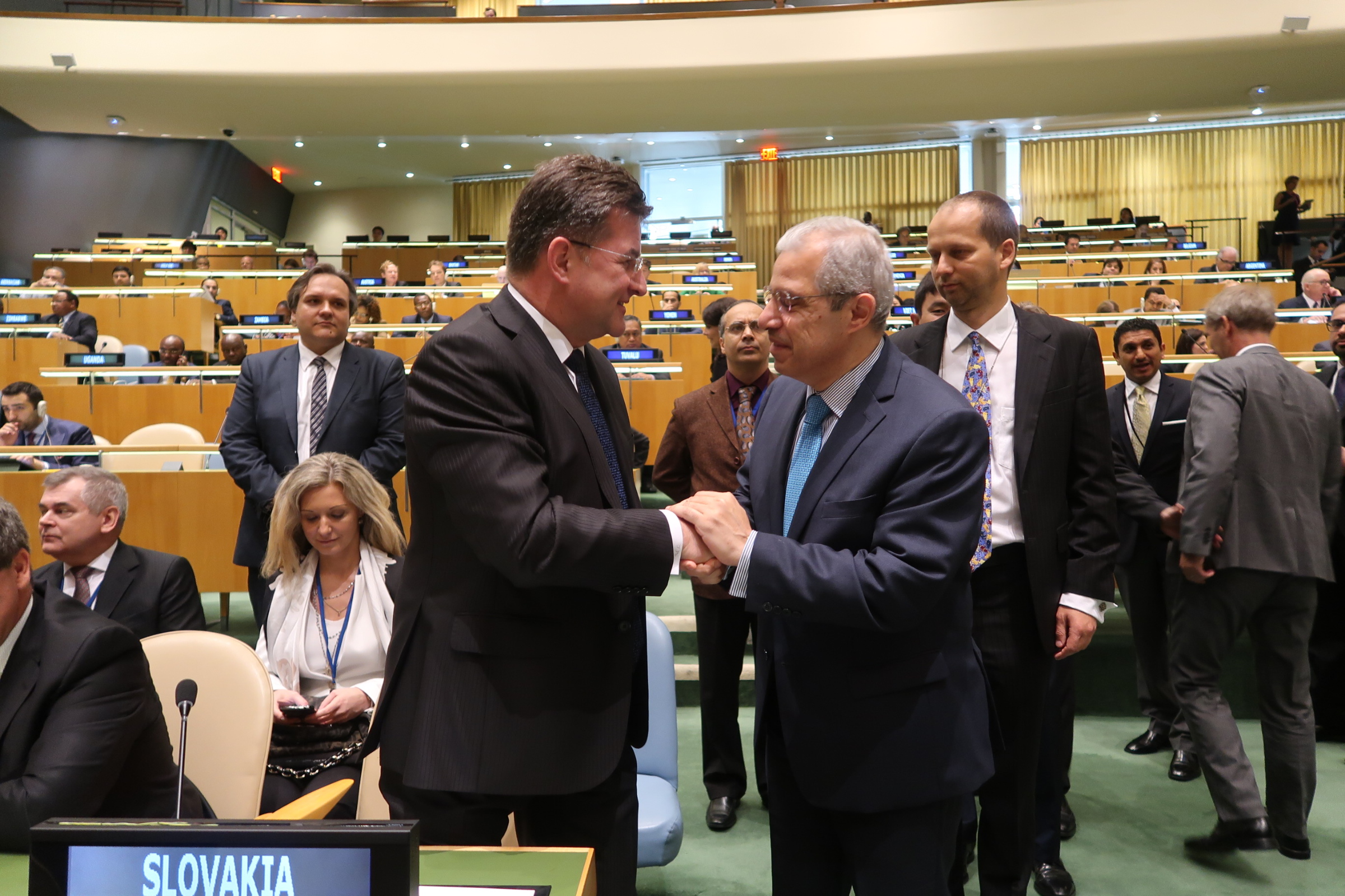 Election of the President of the General Assembly