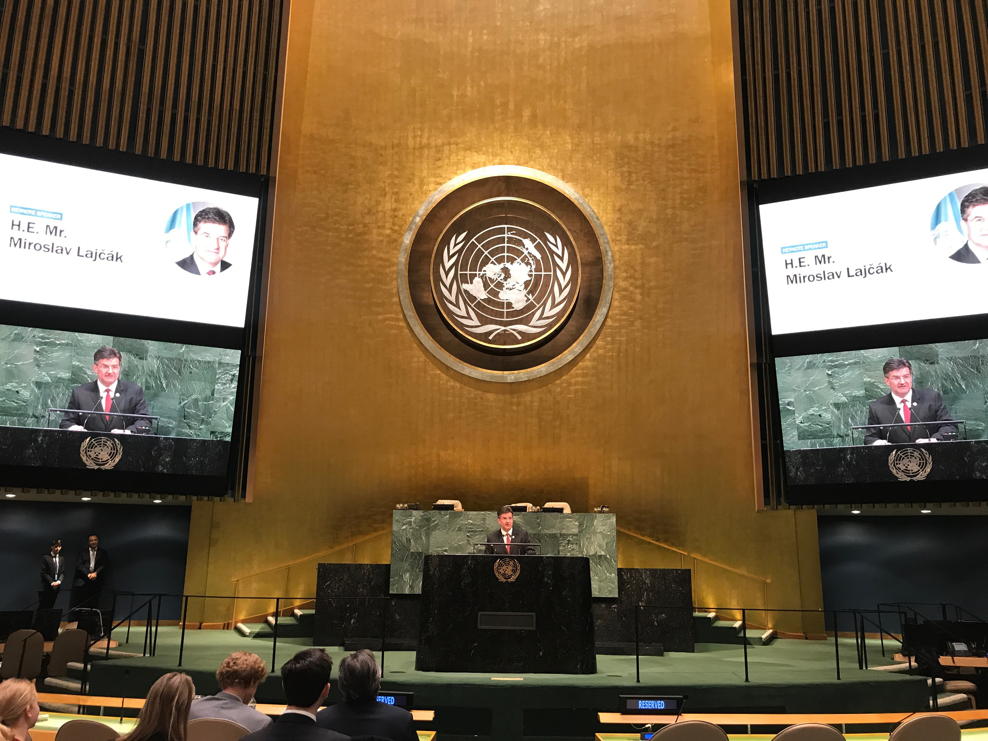 winter youth assembly general assembly of the united nations. Black Bedroom Furniture Sets. Home Design Ideas