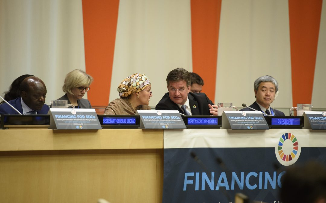 PRESS RELEASE: Assembly President convenes high-level event on financing Sustainable Development Goals