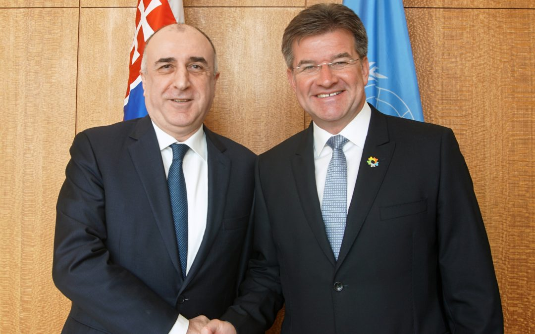 Meeting with Foreign Minister of Azerbaijan