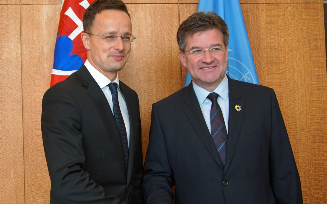 Meeting with Minister of Foreign Affairs and Trade of Hungary