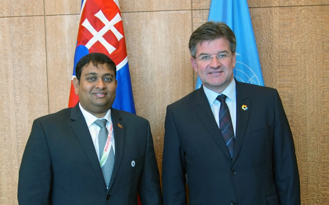 Meeting with Minister for Fisheries and Agriculture of Maldives