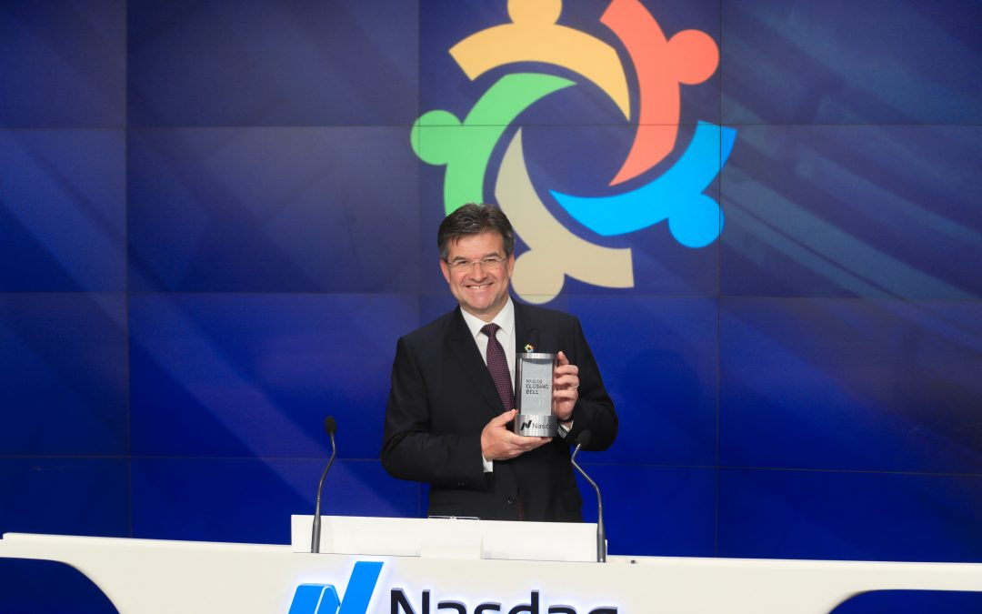 PRESS RELEASE: General Assembly President rings the NASDAQ stock market closing bell, calls for financing for global goals