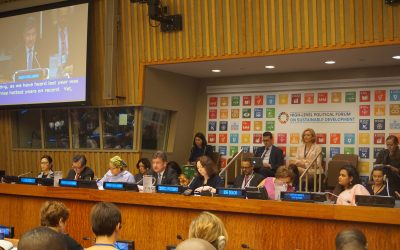 """Opening of the ministerial segment of the High-level Political Forum on sustainable development HLPF under the theme: """"Transformation towards sustainable and resilient societies"""""""