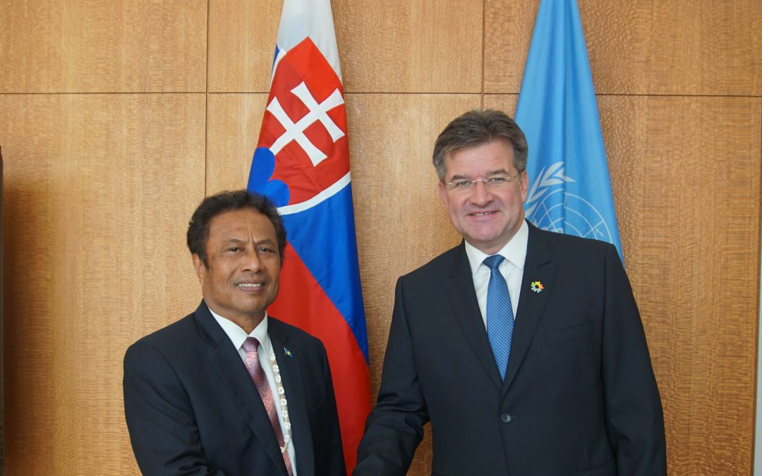 Meeting with the President of Palau