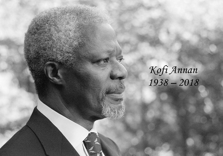 Statement on the passing of former Secretary-General Kofi Annan