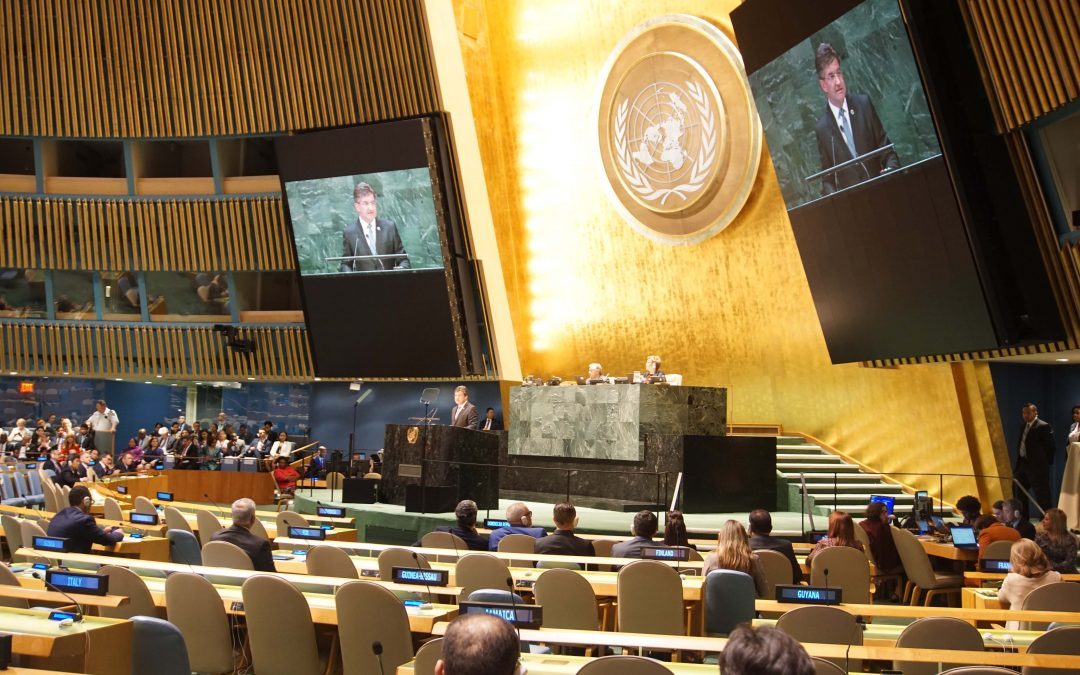 Closing of Session 72 of the General Assembly