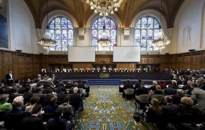 La Cour internationale de Justice rend un arrêt. Photo ONU/ICJ-CIJ