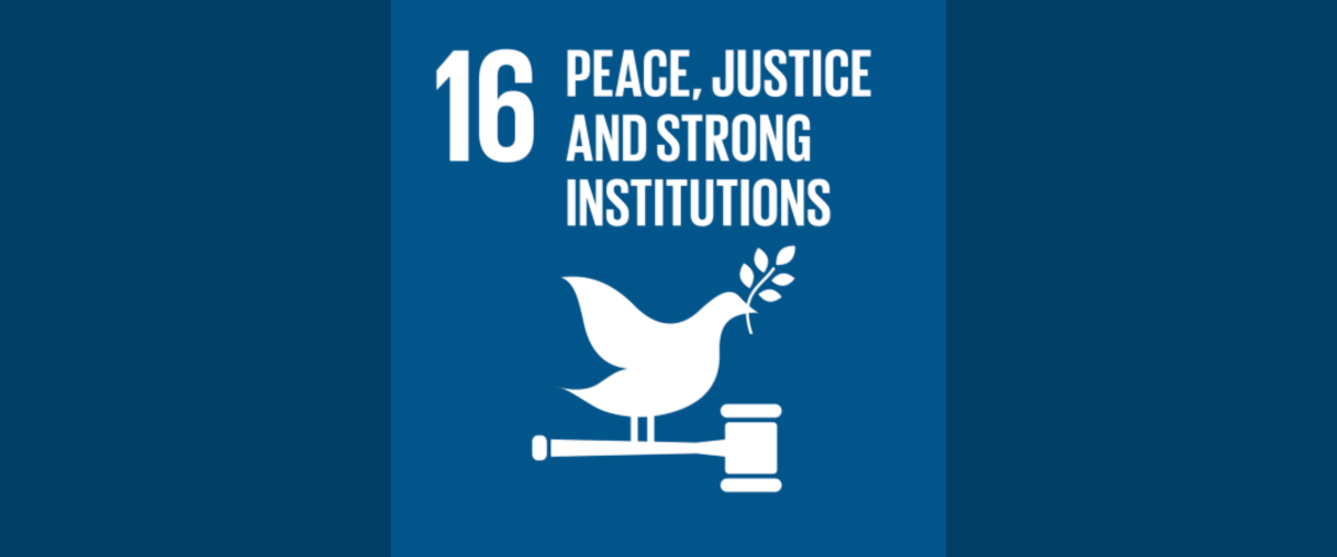 Sustainable Development Goal 16 - United Nations and the Rule of Law