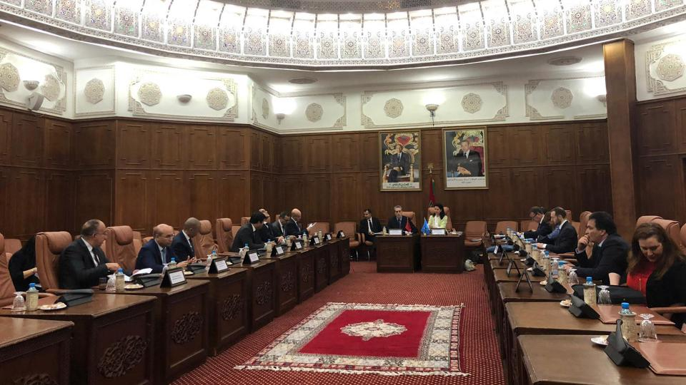 Photo of Executive Directorate (CTED) concluded a second follow-up visit to Morocco