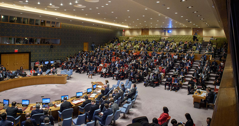 Security Council Considers Impacts of Climate-related Disasters on International Peace and Security.