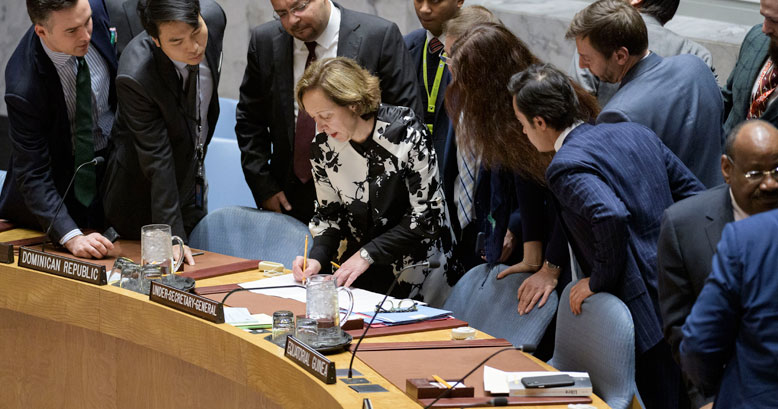 Security Council Holds Emergency Meeting on Situation in Venezuela.