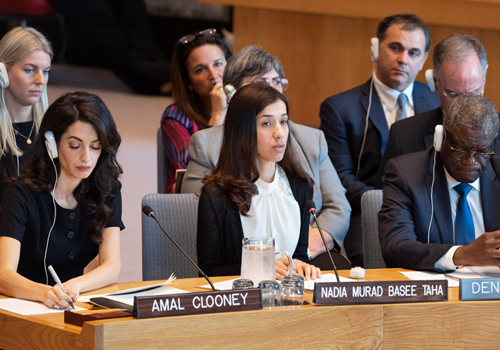 Security Council Considers Sexual Violence in Conflict.
