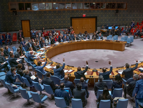 Security Council Fails to Adopt Draft Resolutions on Situation in Syria.