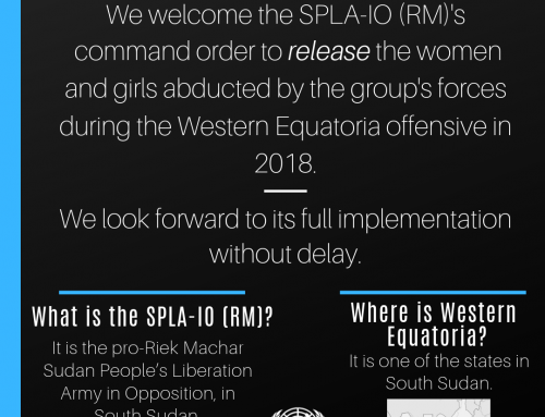 SPLA-IO (RM) Order to Release Women and Girls