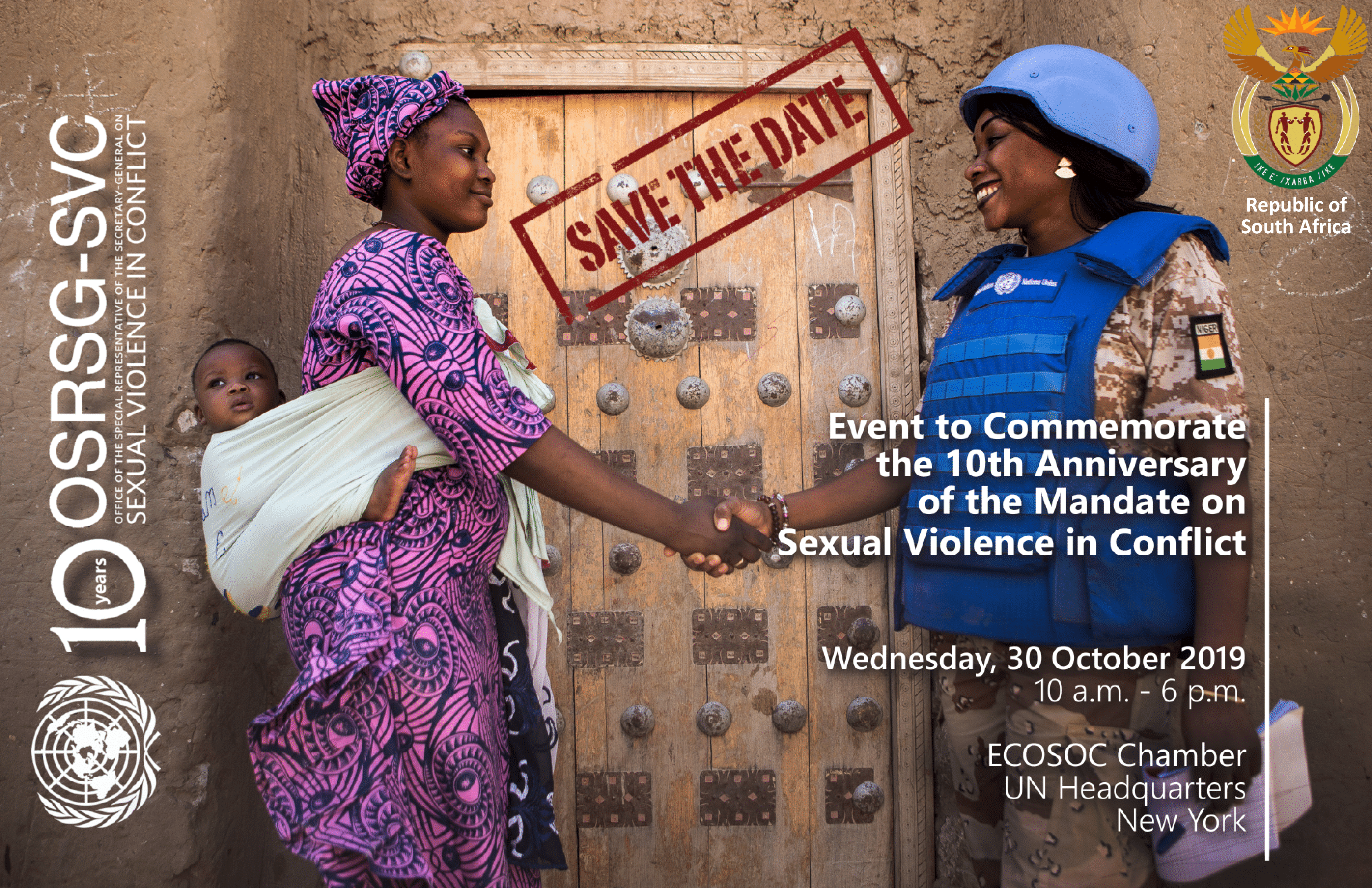 Event to Commemorate the 10th Anniversary of the Mandate on Sexual Violence in Conflict