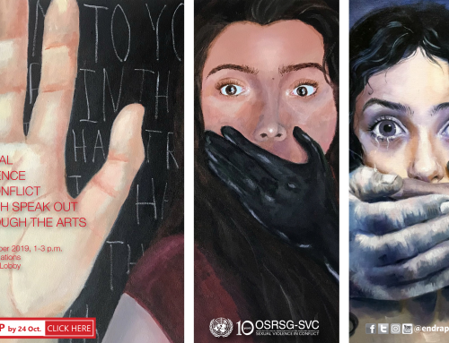 """""""Youth speak out through the arts"""" Exhibition"""