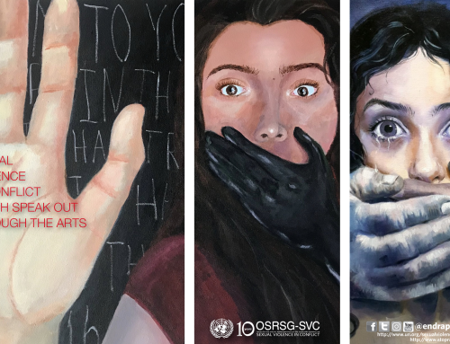 Sexual Violence in Conflict: Youth Speak Out Through the Arts Exhibit is BACK