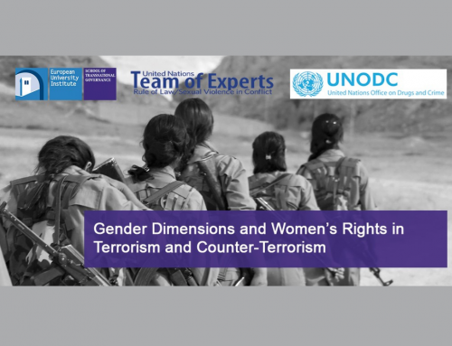 """Executive Training on """"Gender Dimensions and Women's Rights in Terrorism and Counter-Terrorism"""""""