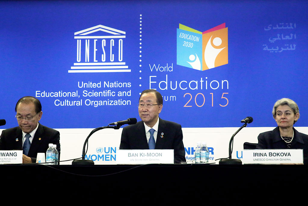 Remarks At The World Education Forum On Quot Sustainable