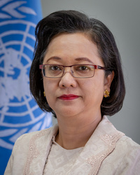 Armida Salsiah Alisjahbana Executive Secretary of the Economic and Social Commission for Asia and the Pacific
