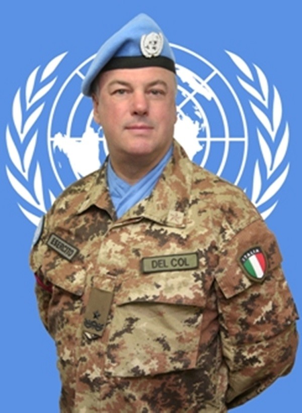 Stefano  Del Col Head of Mission and Force Commander of the United Nations Interim Force in Lebanon
