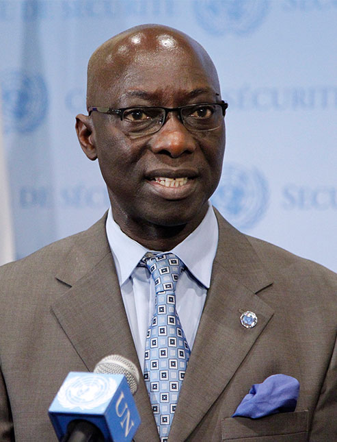 Adama  Dieng Special Adviser on the Prevention of Genocide