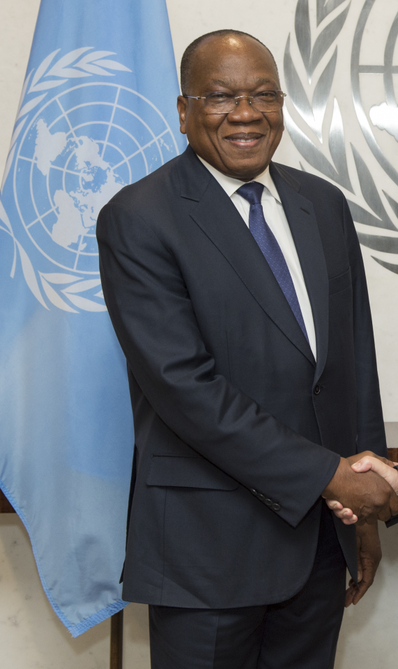 François  Louncény Fall Special Representative and Head of the United Nations Regional Office for Central Africa