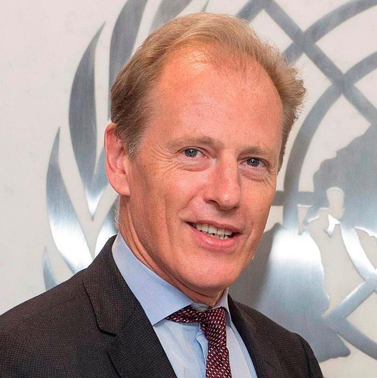 Andrew  Gilmour Assistant Secretary-General for Human Rights and Head of the OHCHR in New York